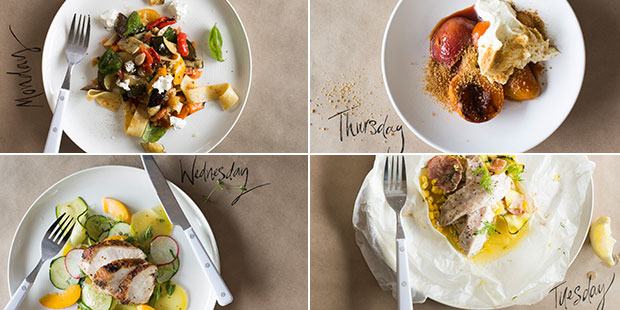 We have a super four-day menu plan to get you back into the work/school routine. Photos / Bite magazine