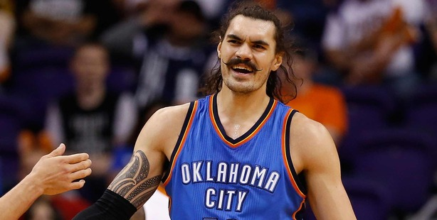Steven Adams says his new look has advantages. Photo / Getty
