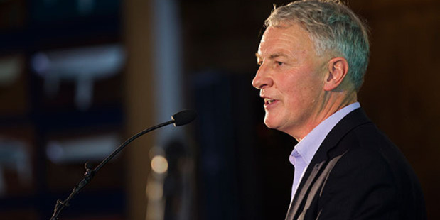 Phil Goff says he's focused on transport, housing, environmental sustainability and efficient management/good governance. Photo / Nick Reed