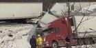 Watch:  Fatal pileup of vehicles in Pennsylvania
