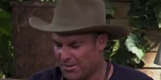 Shane Warne was bitten by an anaconda during a challenge on I'm A Celebrity...Get Me Out Of Here!