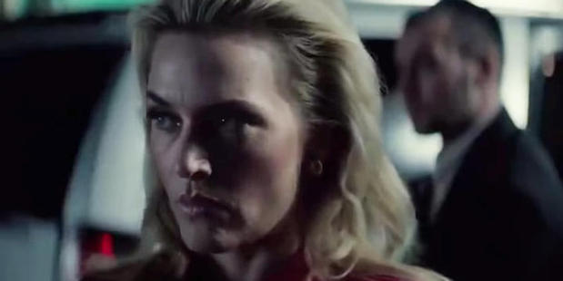 Kate Winslet stars as the villain in the movie Triple 9.