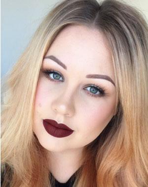 Freelance makeup artist Seb Tomlinson.