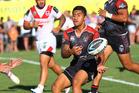 Ata Hingano of the NZ Warriors. Photo / Getty Images