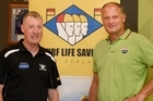 Paul Dalton chief executive of Surf Life Saving with Simon Limmer chief operating officer of Zespri share their thoughts on the new partnership between them.