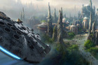 Concept art for the new Disney expansion Star Wars Land. Photo / ABC