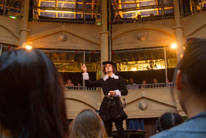 Twelth Night by William Shakespeare performed at the pop-Up Globe Theater in Auckland. Image / supplied