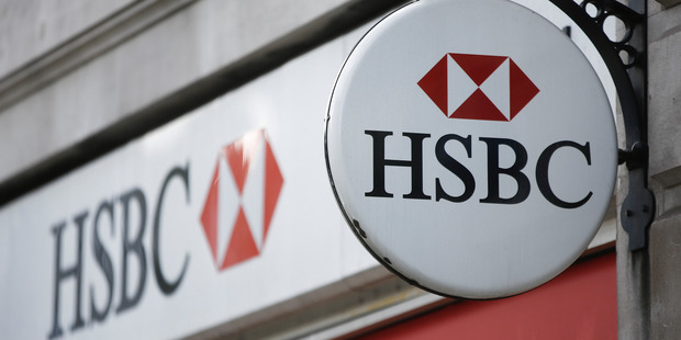 HSBC reduced risk-weighted assets by $124 billion last year, taking it almost half-way toward the target for the end of 2017. Photo / Bloomberg