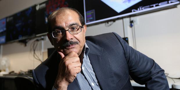 Dr. Hossein Sarrafzadeh at Unitec in Auckland. Photo / Doug Sherring