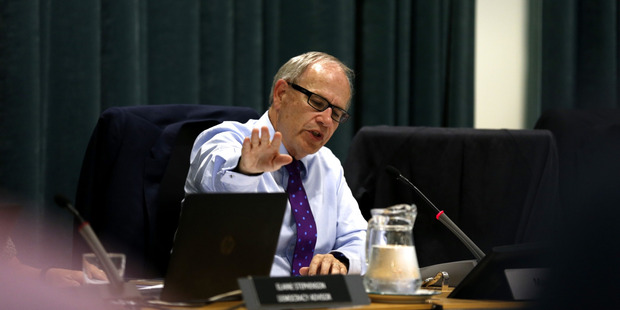 Scuttling housing density plans is a black mark against Auckland Mayor Len Brown. Photo / Dean Purcell