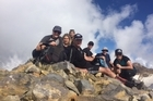 Listen to Tauranga firefighter Kevin Cowper talk about scaling the North Island's four highest peaks within 24 hours with five other firefighters.