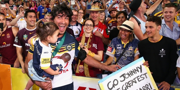 It will be tough for Johnathan Thurston's Cowboys to repeat in 2016. Photo / Getty Images