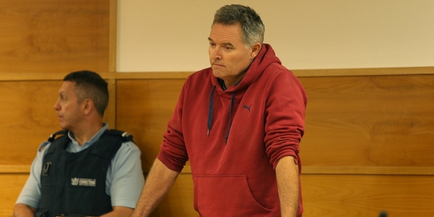 Ewan Malcolm Campbell was sentenced in Tauranga District Court yesterday on 59 tax evasion charges. Photo / John Borren