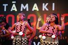 Maori Warriors perform kapa haka during the Tamaki Herenga Waka Festival in Auckland, New Zealand. Photo / Getty Images