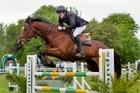 Maurice Beatson and Mandalay Cove in action at last year's Hawke's Bay Show.