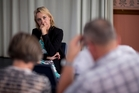 National MP Nikki Kaye heard a range of concerns at a meeting about the law governing the apartment and multi-unit sector on Friday. Photo / Dean Purcell