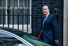 Britain's Prime Minister David Cameron leaves 10 Downing Street for the House of Commons. Photo / Alastair Grant