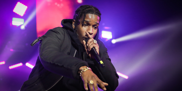 Loading A$AP Rocky was allegedly assaulted at The Pullman Hotel in Auckland following his show last night. Photo / Getty