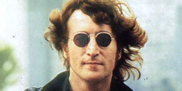 A lock of John Lennon's hair was sold for $35,000.