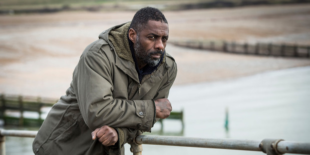 From BBC TV show Luther. Actor Idris Elba plays DCI John Luther. Image / Supplied, Steffan Hill, BBC