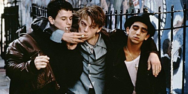 A scene from the movie, The Basketball Diaries.