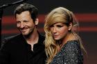 Lukasz 'Dr. Luke' Gottwald and singer Kesha. Photo / Getty Images