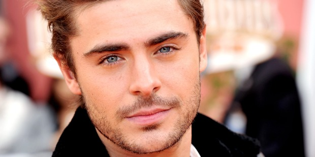 Actor Zac Efron. Photo / Getty Images