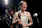 Actor Julianne Moore, winner of Best Actress for Still Alice at the 87th Annual Academy Awards, 2015. Photo / Getty Images