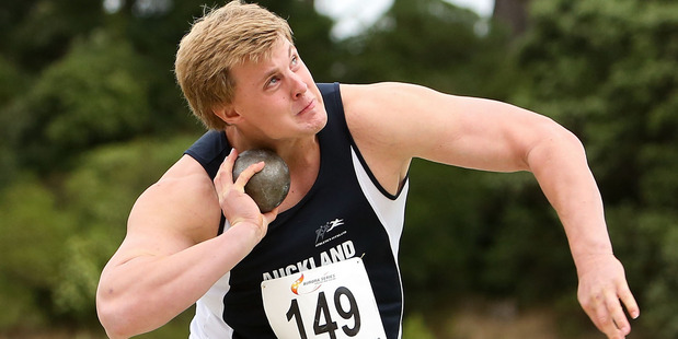 Jacko Gill has pulled out of the Auckland Track Challenge. Photo / Getty Images