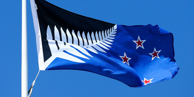 Will it fly? Kyle Lockwood's design for the New Zealand flag.