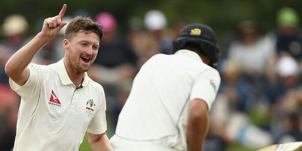 Jackson Bird took five wickets for Australia. Photo / Getty