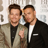 Louis Tomlinson (L) and Liam Payne arrives on the red carpet. Photo / Getty Images