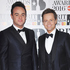 Hosts Ant and Dec arrive on the red carpet. Photo / Getty Images