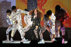Jess Glynne performs on stage. Photo / Getty Images