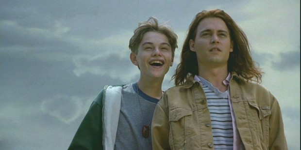 A scene from the movie, What's Eating Gilbert Grape.