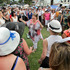 Crowds formed as singing was heard, Gatsby Picnic, Sunday, Art Deco, Napier. Hawke's Bay Today photograph by Warren Buckland