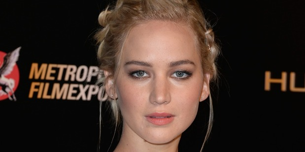 Actress Jennifer Lawrence has topped a new rich list. Photo / Getty