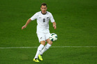 Shane Smeltz of the New Zealand All Whites. Photo / Getty Images