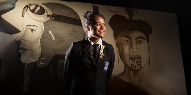 Jordyn Tereu is the head girl this year at Rotorua Girls' High School. PHOTO/STEPHEN PARKER