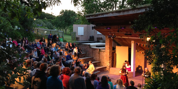 Loading Auckland Shakespeare in the Park at Takapuna PumpHouse Theatre. Photo / Supplied