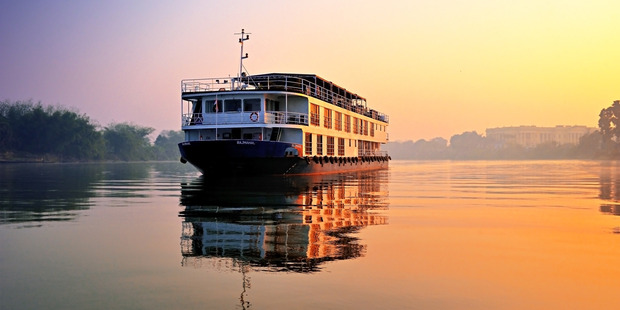 Cruising on the Ganges River. Photo / Roderick Eime, Creative Commons
