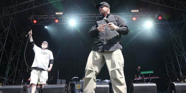 Raggamuffin Music Festival at Trust Stadium, Auckland. Photo / Doug Sherring