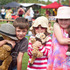 Out and About at the Variety Teddy Bears Picnic at Bethlehem College. (l-r) Jack Smith, Ruby Rawson abnd Caitlyn Smith. Photo/Andrew Warner
