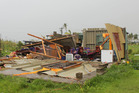 A damaged house at Lautoka, Fiji after Cyclone Winston cut a swathe through the islands overnight. Photo / Fijian Government Facebook