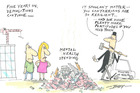 Cartoon: You Cantabrians are resilient