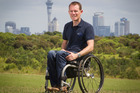 Paul Crake, who was paralysed in a cycling accident, has set up a company which helps disabled people to drive again. Photo / Greg Bowker