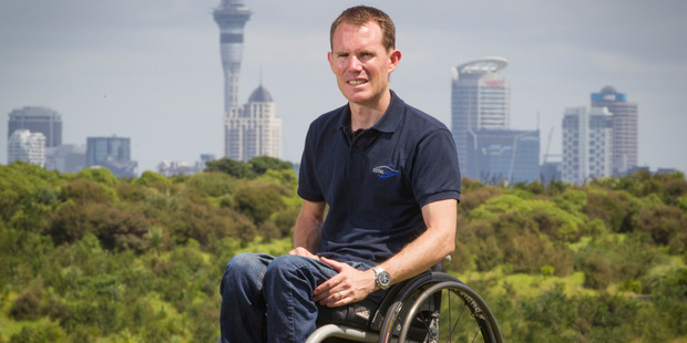 Loading Paul Crake, who was paralysed in a cycling accident, has set up a company which helps disabled people to drive again. Photo / Greg Bowker