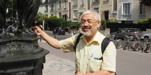 Typical Parisian cafes and the Chinese side of France's capital are a feature of volunteer Greeter Quan's  tour of his hometown. Photo / Pamela Wade