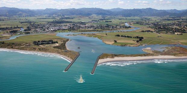 Conceptual image of Opotiki Harbour Development
