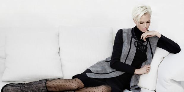 Bax has just finished a sensational photo shoot for fashion legend Paula Ryan. Photo / Supplied
